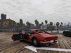Destructible Cars Engine In Big Megapolis