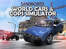World Cars & Cops Simulator Sandboxed