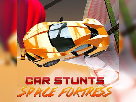 Crazy Car Stunts: Space Fortress