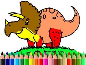 BTS Dinosaur Coloring Book